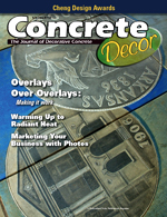 Concrete Decor, Vol 7, No 6